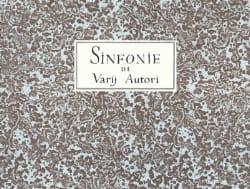- Sinfonie di varii autori per flauto e basso continuo - Partition - di-arezzo.fr