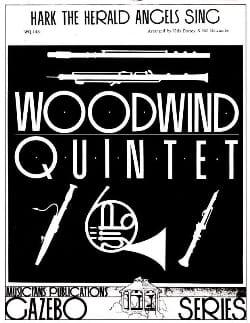 - Hark The Herald Sing Angels - Woodwind quintet - Sheet Music - di-arezzo.co.uk