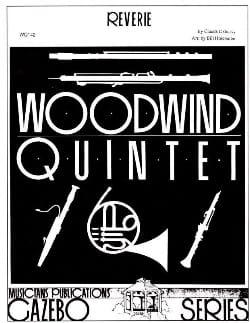 Rêverie -Woodwind quintet DEBUSSY Partition Quintettes - laflutedepan