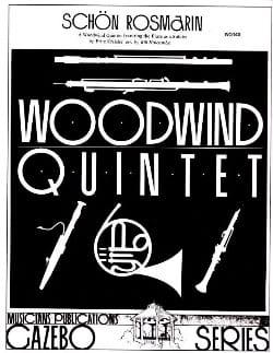 Schön Rosmarin -Woodwind quintet - KREISLER - laflutedepan.com