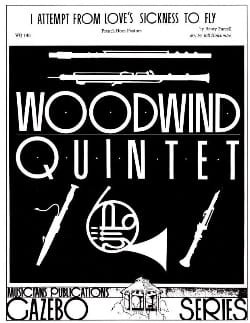 Henry Purcell - I Attempt from Love's Sickness to fly -Woodwind quintet - Partition - di-arezzo.fr