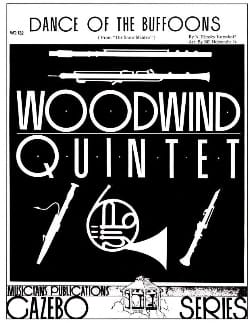 Nicolaï Rimsky-Korsakov - Dance of the Buffoons - Woodwind Quintet - Sheet Music - di-arezzo.co.uk