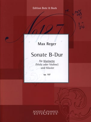 Sonate B-Dur Op. 107 - Klarinette Klavier - laflutedepan.com