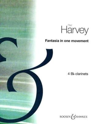 Fantasia in one movement - Paul Harvey - Partition - laflutedepan.com