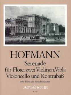 Heinrich Hofmann - Serenade - Flöte 2 Violinen Viola Cello Kontr. - Stimmen - Partition - di-arezzo.fr