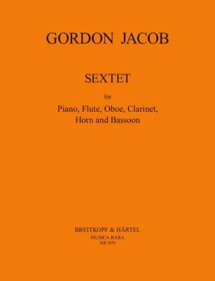 Gordon Jacob - Sexteto - flauta de piano oboe clarinete cuerno fagot - Partitura - di-arezzo.es