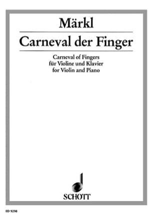 Carneval der Finger - Josef Märkl - Partition - laflutedepan.com