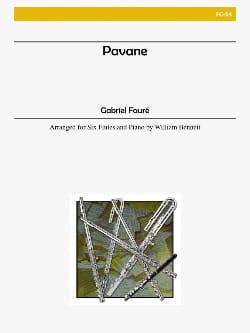 Gabriel Fauré - Pavane - 6 flutes piano - Score + parts - Partition - di-arezzo.fr