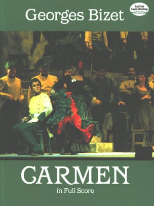Carmen - Full Score BIZET Partition Grand format - laflutedepan