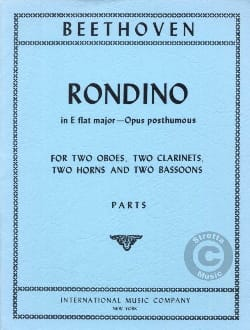 BEETHOVEN - Rondino in E Flat Major op. posth. - Parts - Sheet Music - di-arezzo.com