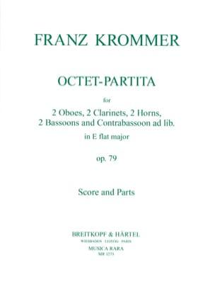Octet-Partita in E flat major op. 79 -Score + parts - laflutedepan.com
