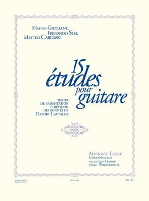 - 15 Studies for guitar - Sheet Music - di-arezzo.co.uk