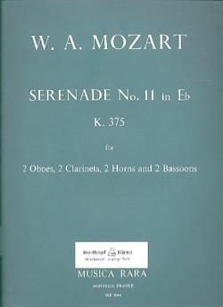 Sérénade n° 11 in Eb maj. KV 375 -Wind octet - Parts laflutedepan