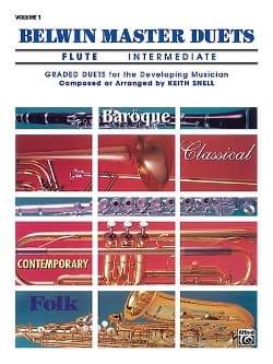 Keith Snell - Belwin Master Duets, Volume 1 Intermediate Flute - 2 Flutes - Sheet Music - di-arezzo.co.uk
