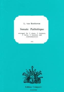 Sonate Pathétique - Nonette A Vents - BEETHOVEN - laflutedepan.com