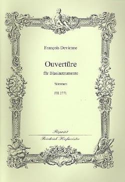 François Devienne - Ouverture Pour Vents - 2 Piccolos-2 Hautbois-2 Clarinettes-2 Bassons-Contrebasso - Partition - di-arezzo.fr