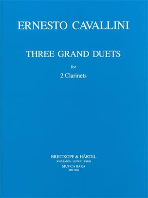 Ernesto Cavallini - 3 Great Duos - Sheet Music - di-arezzo.co.uk
