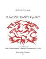 DVORAK - Slave Dance, Op. 46 N ° 2 - Nonette à Vents - Sheet Music - di-arezzo.co.uk