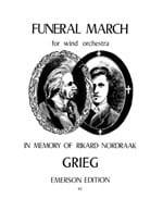 Funeral March - Orchestre De Vents - Edvard Grieg - laflutedepan.com
