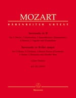 MOZART - Gran Partita Serenade, Kv 361 Parts - 12 Winds-Contrabass - Sheet Music - di-arezzo.com