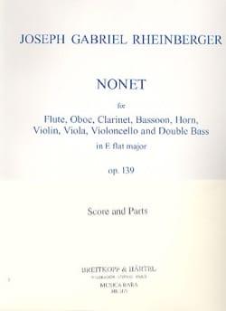 Nonet, Op. 139 - Quintette A Vents-Violon-Alto-Cello-Basse laflutedepan