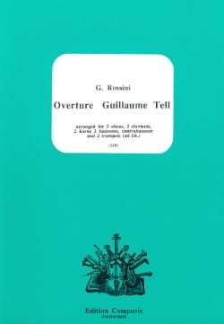 Ouverture Guillaume Tell - 11 Vents ROSSINI Partition laflutedepan