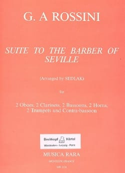 Gioacchino Rossini - The Barber of Seville, Suite - 11 Winds - Sheet Music - di-arezzo.com