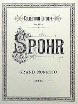 Louis Spohr - Grand Nonetto, Op. 31 - Quintet Winds-Violin-Viola-Cello-Double Bass - Sheet Music - di-arezzo.com