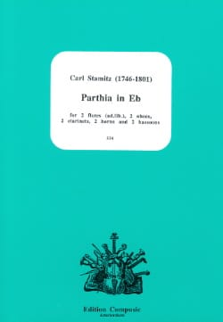 Carl Stamitz - Parthia In Eb Eb M - Dixtuor In Winds - Sheet Music - di-arezzo.co.uk