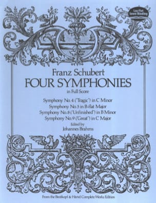 SCHUBERT - Four Symphonies - Conductor - Sheet Music - di-arezzo.com