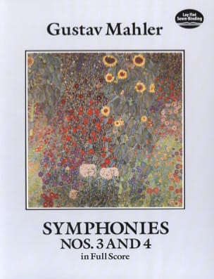 Gustav Mahler - Symphonies N ° 3 and 4 - Sheet Music - di-arezzo.co.uk