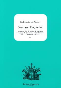 Carl Maria Von Weber - Euryanthe, Ouverture - Nonette A Vents - Partition - di-arezzo.fr