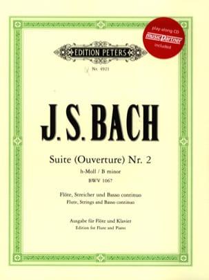 Suite h-moll Ouverture Nr. 2 BWV 1067 - Flöten Klavier laflutedepan