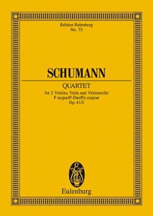 Streichquartett F-Dur Op. 41/2 - Conducteur - laflutedepan.com