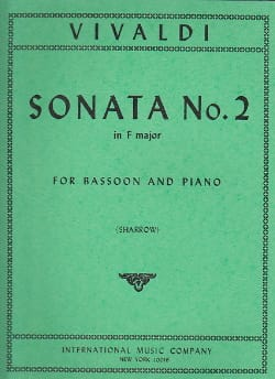 Sonate n° 2 in F major RV 41 - Antonio Vivaldi - laflutedepan.com