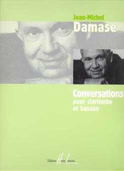 Jean-Michel Damase - Conversations - Partition - di-arezzo.fr