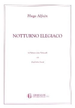 Notturno elegiaco op. 5 - Hugo Alfven - Partition - laflutedepan.com