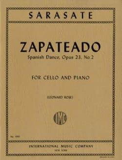 Pablo De Sarasate - Zapateado - Danza Española op. 23 n ° 2 - Partitura - di-arezzo.es