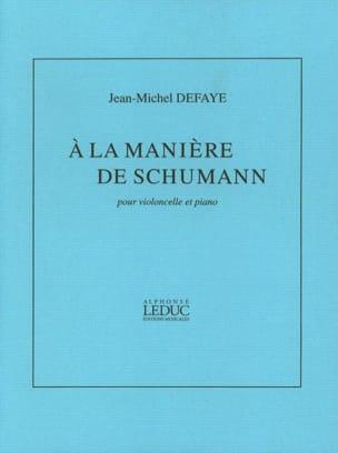 Jean-Michel Defaye - Auf dem Schumann-Weg - Noten - di-arezzo.de