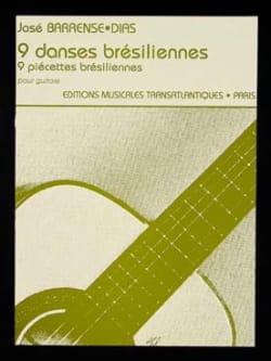 José Barrense-Dias - 9 Brazilian Dances - Guitar - Sheet Music - di-arezzo.co.uk