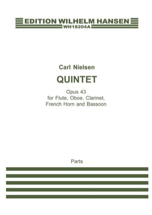 Carl Nielsen - Quintet opus 43 - Parts - Sheet Music - di-arezzo.co.uk