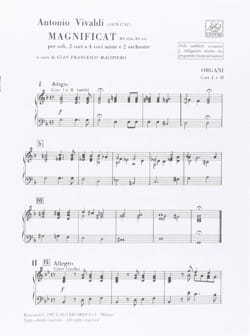 VIVALDI - Magnificat RV 610a RV 611 - Set - Sheet Music - di-arezzo.co.uk