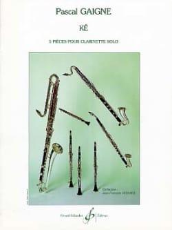 Pascal Gaigne - Ké - Partition - di-arezzo.fr