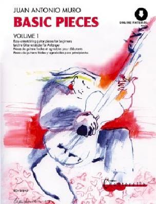 Juan-Antonio Muro - Basic Pieces Volume 1 - Partition - di-arezzo.fr