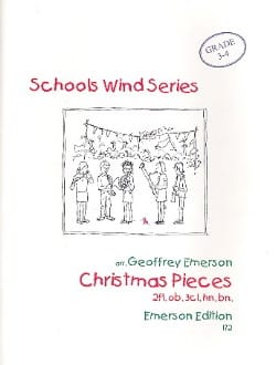 Christmas pieces - Wind octet - Score + parts - laflutedepan.com