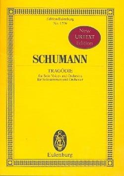 Robert Schumann - Tragödie - Partition - di-arezzo.fr
