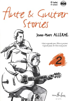 Flûte And Guitar Stories Vol.2 - Jean-Marc Allerme - laflutedepan.com