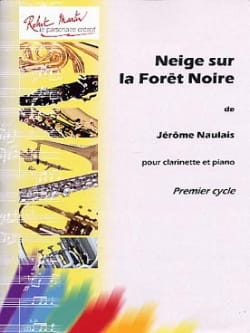 Jérôme Naulais - Snow on the Black Forest - Sheet Music - di-arezzo.com