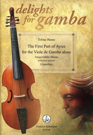 Tobias Hume - The first part of ayres for the viola of gamba alone - Sheet Music - di-arezzo.com