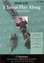 Carl Baermann - Etudes Clarinette op. 63 Part 1 - 2 CD - Partition - di-arezzo.fr